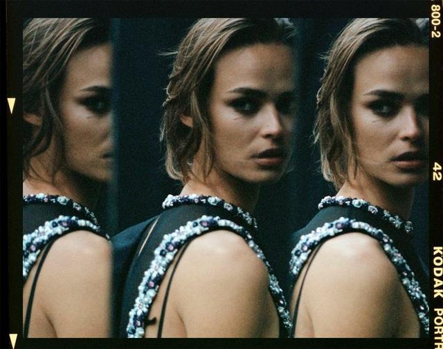 Birgit Kos siêu đẹp và cổ điển trên Vogue Ba Lan - ảnh 6