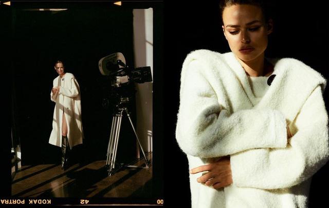 Birgit Kos siêu đẹp và cổ điển trên Vogue Ba Lan - ảnh 8