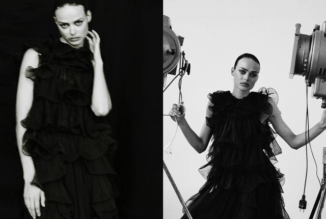 Birgit Kos siêu đẹp và cổ điển trên Vogue Ba Lan - ảnh 12