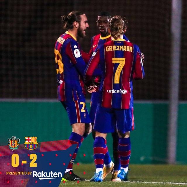 Vòng 1/16 Cúp Nhà vua Tây Ban Nha: Barcelona và Athletic Bilbao giành quyền đi tiếp - Ảnh 3.