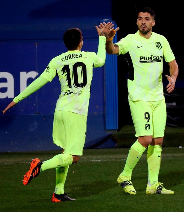 Vòng 19 La Liga: Atletico Madrid củng cố ngôi đầu bảng - Ảnh 1.