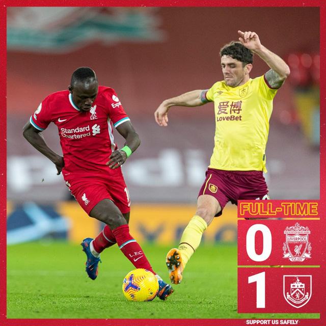 Thua Burnley tại Anfield, Liverpool nối dài mạch trận thất vọng - Ảnh 4.