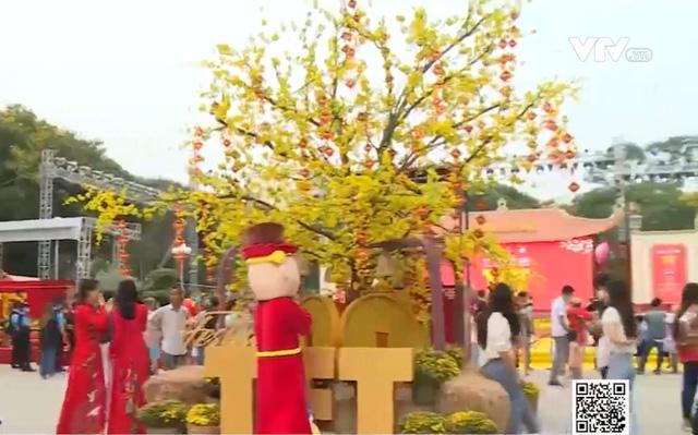 Đậm đà vị Tết cổ truyền tại lễ hội Tết Việt 2021 - Ảnh 1.