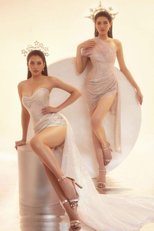 """Hoa hậu Đỗ Thị Hà lần đầu """"đọ sắc"""" với Tiểu Vy - Ảnh 7."""