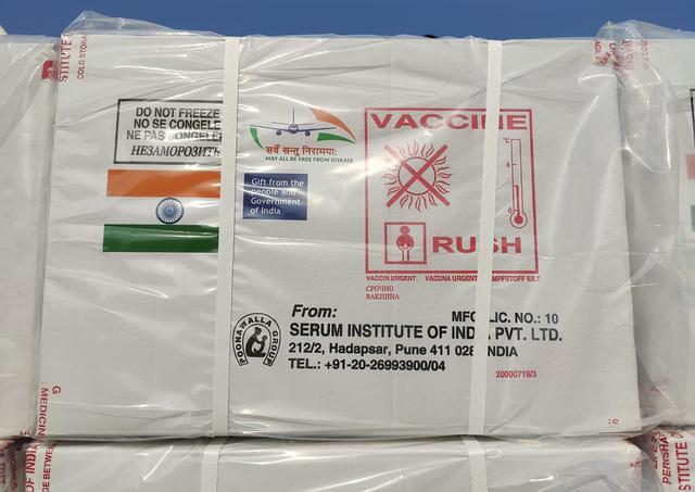 Myanmar nhận 1,5 triệu liều vaccine COVID-19 miễn phí từ Ấn Độ - Ảnh 1.