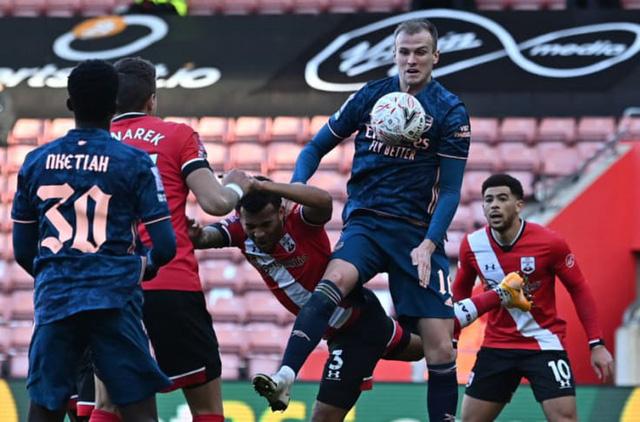 Arsenal bị Southampton loại khỏi FA Cup - Ảnh 2.