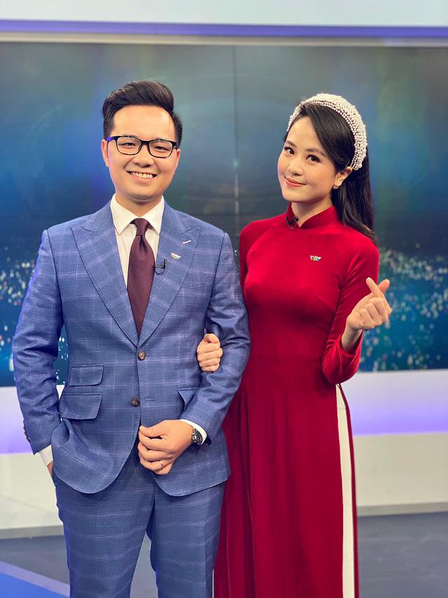 Nữ MC xinh đẹp mới toanh của bản tin Thời sự 19h - Ảnh 5.