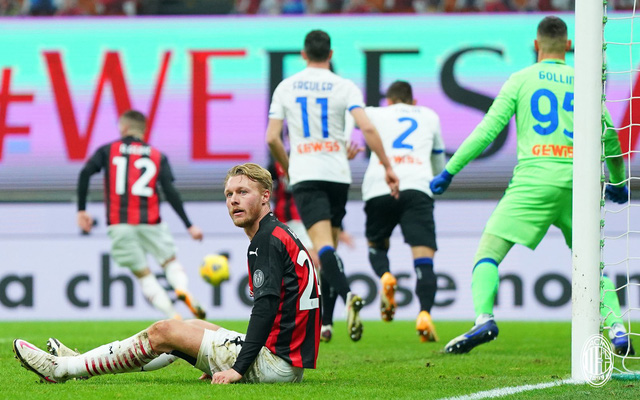 Vòng 19 Serie A: AC Milan thua đậm Atalanta ngay tại San Siro - Ảnh 1.