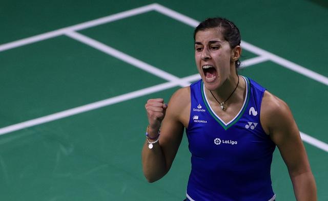 Giải cầu lông Thái Lan mở rộng: Axelsen, Carolina Marin vô địch thuyết phục! - Ảnh 1.
