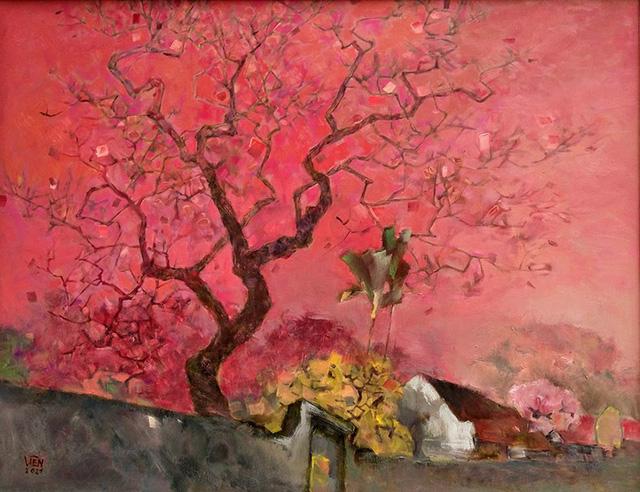 Chào Xuân mở màn khu triển lãm nghệ thuật Art Gallery của SV Kiến Trúc - Ảnh 5.
