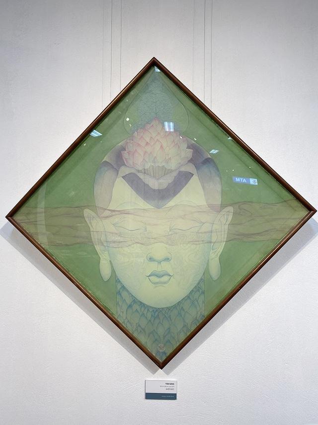 Chào Xuân mở màn khu triển lãm nghệ thuật Art Gallery của SV Kiến Trúc - Ảnh 6.