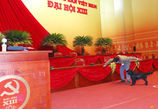 Hoàn tất công tác chuẩn bị cho ngày khai mạc Đại hội XIII của Đảng - Ảnh 6.