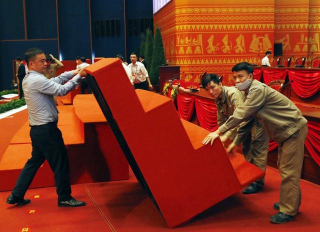 Hoàn tất công tác chuẩn bị cho ngày khai mạc Đại hội XIII của Đảng - Ảnh 4.