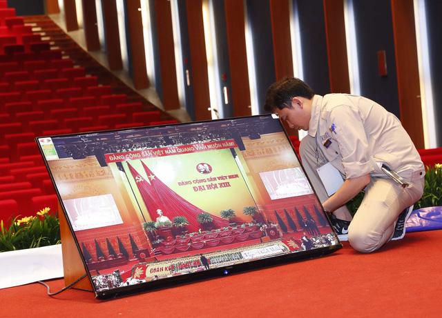 Hoàn tất công tác chuẩn bị cho ngày khai mạc Đại hội XIII của Đảng - Ảnh 1.