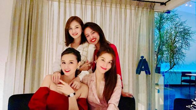 Lã Thanh Huyền hội ngộ nhóm chị em trong Tình yêu và tham vọng - Ảnh 5.