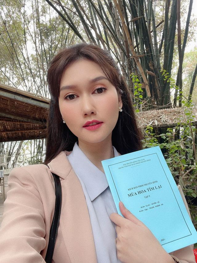 Lan Cave Thanh Hương sánh đôi cùng chị Mận Hương Giang trong phim mới - ảnh 3