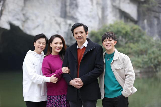 Bảo Thanh vui mừng khi được gặp lại bố Sơn - NSND Trung Anh và Dương - Bảo Hân - Ảnh 6.