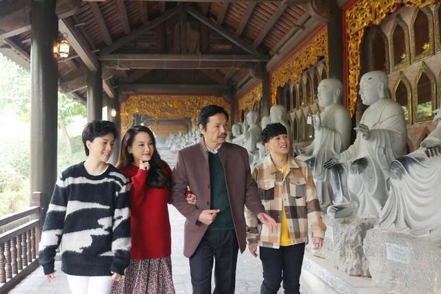 Bảo Thanh vui mừng khi được gặp lại bố Sơn - NSND Trung Anh và Dương - Bảo Hân - Ảnh 4.