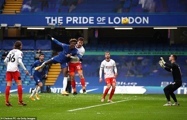 Chelsea 3-1 Luton Town: Abraham chói sáng đưa Chelsea vào vòng 5 FA Cup - Ảnh 2.