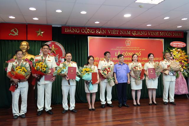 Ông Quách Thanh Giang giữ chức Viện trưởng Viện Kiểm sát nhân dân TP Thủ Đức - Ảnh 1.