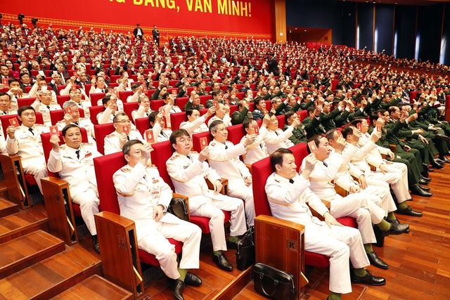 Phiên họp trù bị Đại hội XIII của Đảng: Thông qua các quy chế, chương trình làm việc của Đại hội - Ảnh 3.