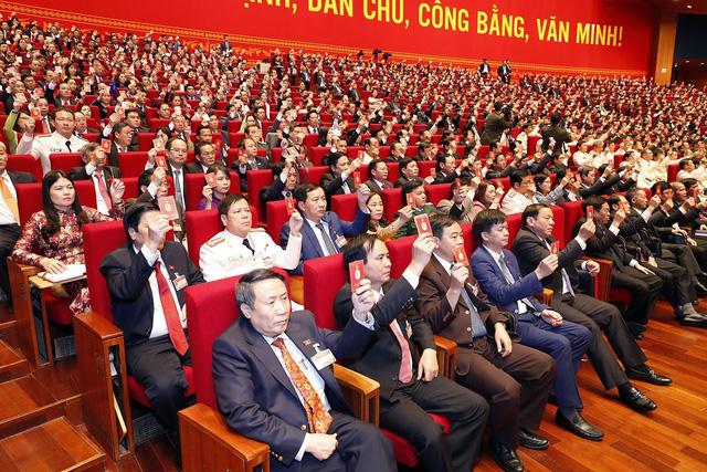 Phiên họp trù bị Đại hội XIII của Đảng: Thông qua các quy chế, chương trình làm việc của Đại hội - Ảnh 4.