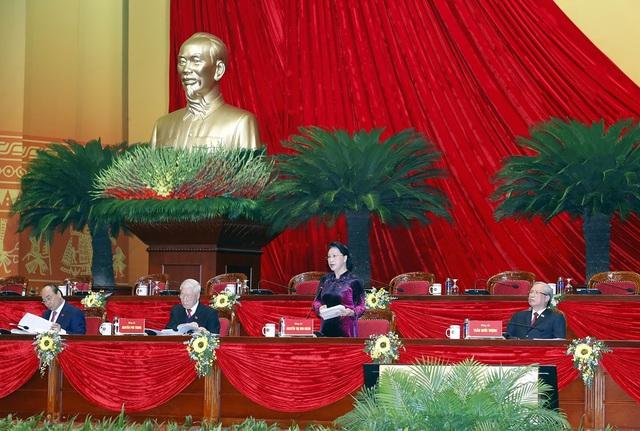 Phiên họp trù bị Đại hội XIII của Đảng: Thông qua các quy chế, chương trình làm việc của Đại hội - Ảnh 6.