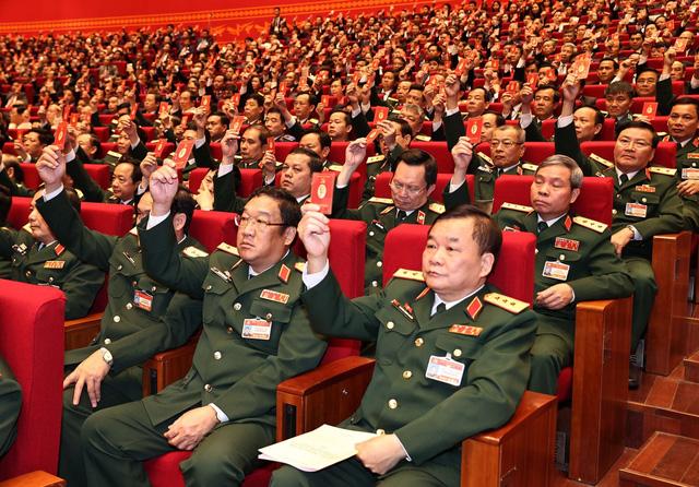 Phiên họp trù bị Đại hội XIII của Đảng: Thông qua các quy chế, chương trình làm việc của Đại hội - Ảnh 2.