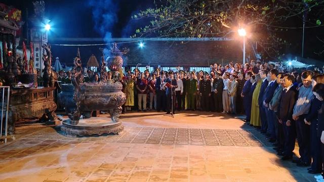 Nam Định dừng tổ chức Lễ hội Khai ấn đền Trần Xuân Tân Sửu - Ảnh 1.