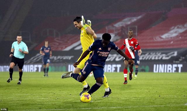 Vòng 20 Ngoại hạng Anh: Saka tỏa sáng, Arsenal ngược dòng ngoạn mục trước Southampton - Ảnh 3.