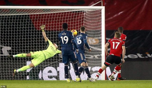 Vòng 20 Ngoại hạng Anh: Saka tỏa sáng, Arsenal ngược dòng ngoạn mục trước Southampton - Ảnh 1.