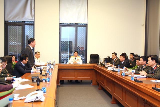 Kiểm tra công tác bảo đảm an ninh trật tự cho Đại hội XIII của Đảng - Ảnh 1.