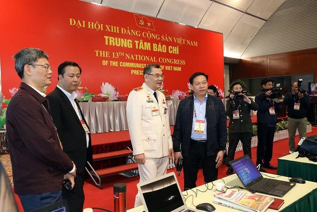Kiểm tra công tác bảo đảm an ninh trật tự cho Đại hội XIII của Đảng - Ảnh 3.
