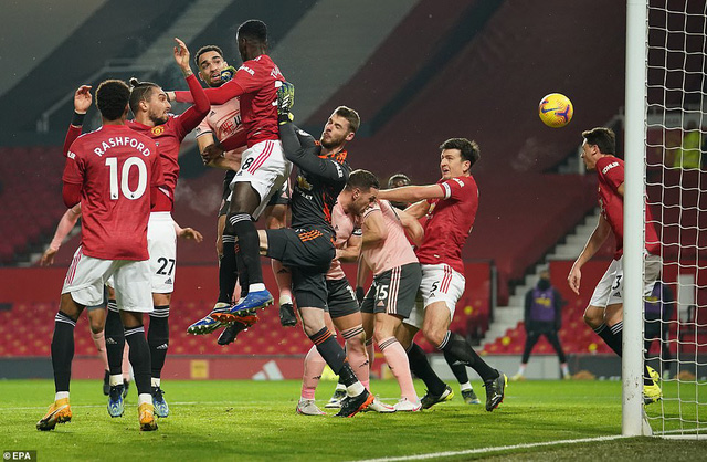 Vòng 20 Ngoại hạng Anh: Man Utd thua sốc đội cuối bảng Sheffield Utd - Ảnh 1.