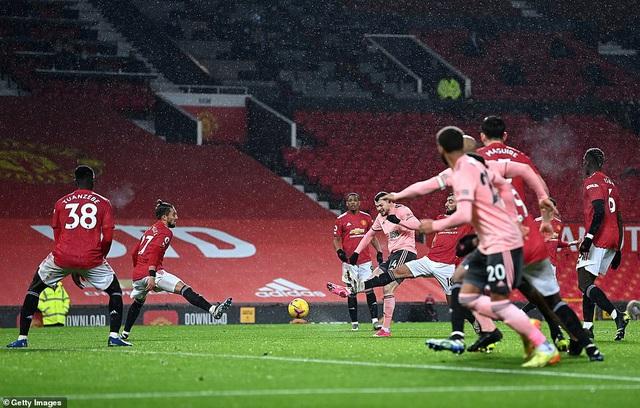Vòng 20 Ngoại hạng Anh: Man Utd thua sốc đội cuối bảng Sheffield Utd - Ảnh 3.