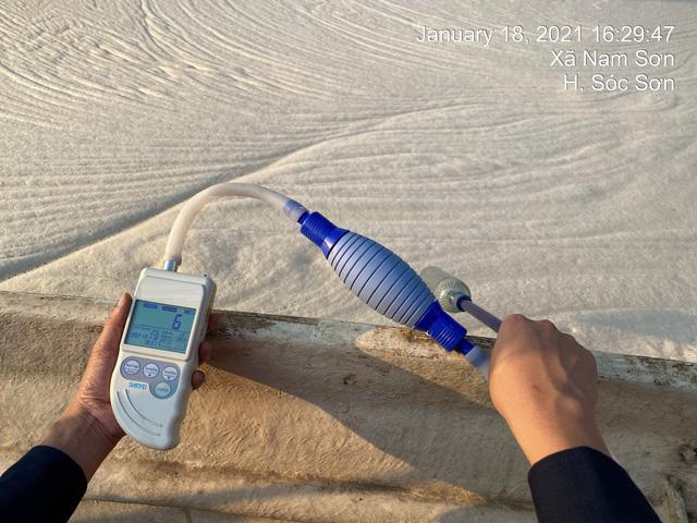 Xử lý thí điểm thành công mùi bãi rác Nam Sơn bằng công nghệ Nhật Bản - Ảnh 1.