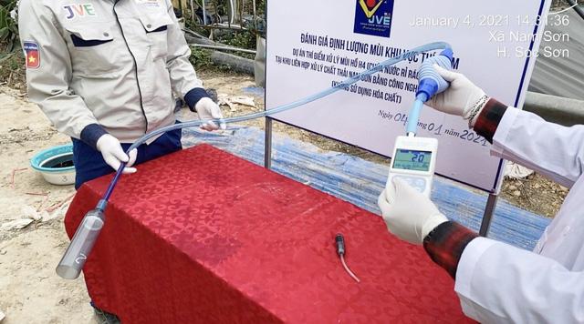 Xử lý thí điểm thành công mùi bãi rác Nam Sơn bằng công nghệ Nhật Bản - Ảnh 4.