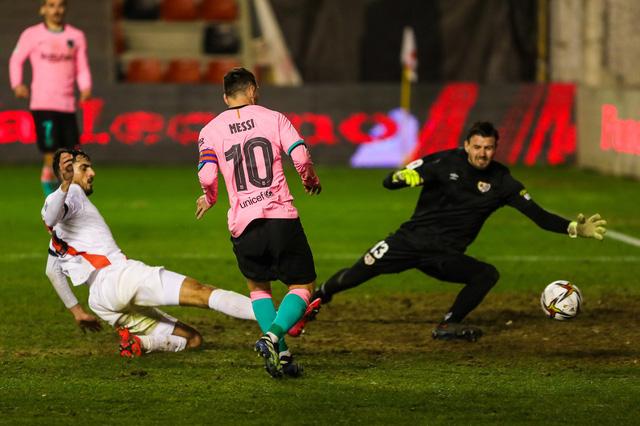 Messi tỏa sáng, Barcelona ngược dòng vào tứ kết Cúp nhà Vua Tây Ban Nha - Ảnh 1.