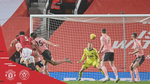 Vòng 20 Ngoại hạng Anh: Man Utd thua sốc đội cuối bảng Sheffield Utd - Ảnh 2.