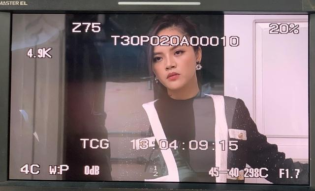 Thu Quỳnh khoe ảnh sánh đôi với Mạnh Trường trong phim mới - Ảnh 3.