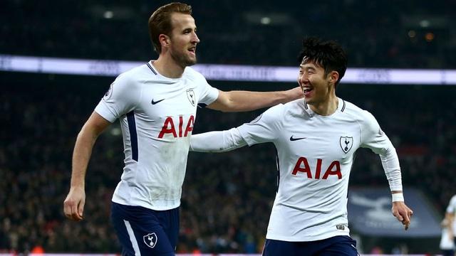 Bộ đôi Son - Kane đi vào lịch sử Ngoại hạng Anh - Ảnh 1.