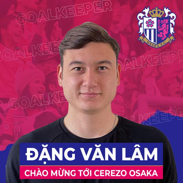 Đặng Văn Lâm chia tay Muangthong United, gia nhập Cerezo Osaka - Ảnh 1.