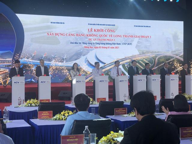 Sân bay Long Thành hướng tới trở thành trung tâm trung chuyển hàng không của khu vực - Ảnh 1.