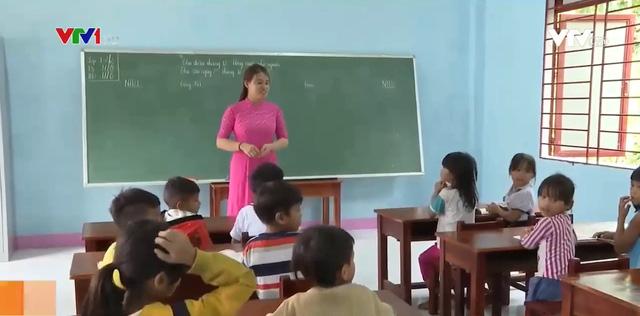 Xây dựng trường học, hồi sinh cuộc sống vùng sạt lở núi Nam Trà My - Ảnh 1.