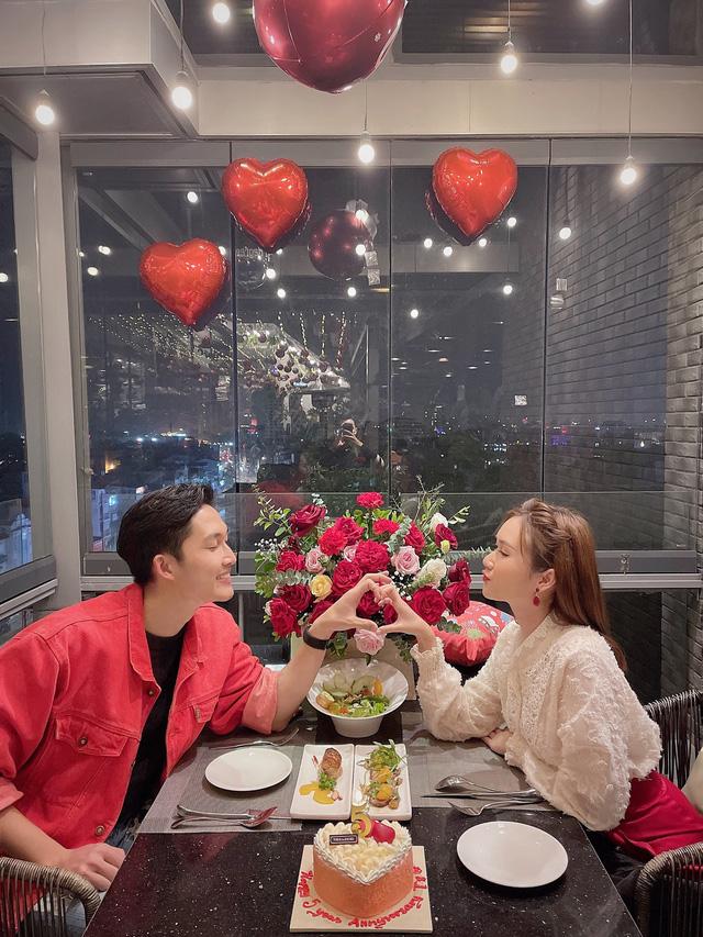 Diễn viên Đình Tú kỷ niệm 5 năm tình yêu với bạn gái hơn tuổi - Ảnh 1.