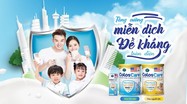 Chủ động tăng cường miễn dịch cho cả gia đình với ColosCare - Ảnh 3.