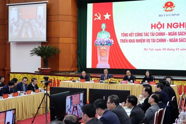 Thủ tướng dự Hội nghị triển khai nhiệm vụ tài chính - ngân sách nhà nước năm 2021 - Ảnh 5.