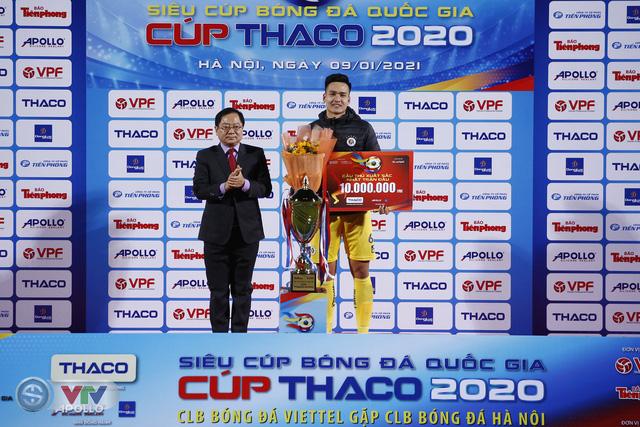 Thắng CLB Viettel, CLB Hà Nội giành Siêu cúp Quốc gia - Ảnh 14.