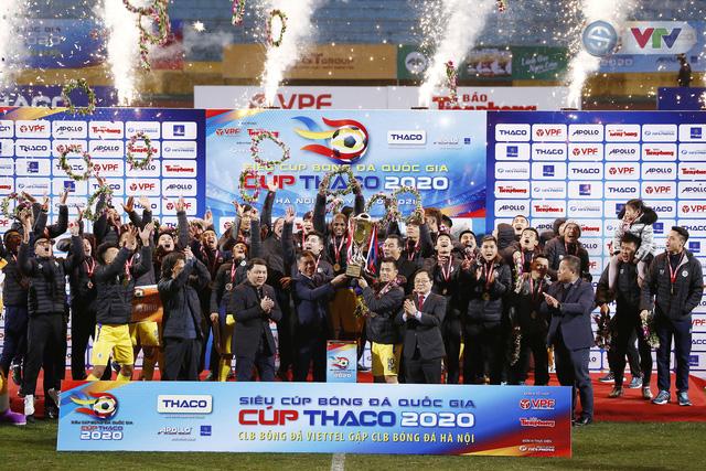 Thắng CLB Viettel, CLB Hà Nội giành Siêu cúp Quốc gia - Ảnh 16.