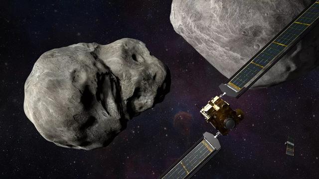 """NASA cho tàu vũ trụ đâm vào tiểu hành tinh để """"cứu Trái Đất"""" - ảnh 1"""